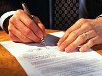 Кто подписывает заявление о приеме на работу
